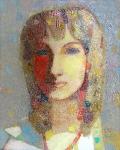 Оксана  х.м. 40 х 32  - 2007 г.