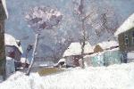 Зима на Богатяновке  х.м. 80 х 122  - 2004 г.