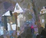 Ростовская Зима  картон, масло. 46 х 58  - 2009 г.      (Продано).