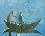 Рыбачье утро  х.м. 80 х 100  - 2008 г.