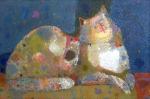 Скоро Март  х.м. 66 х 99  - 2010 г.    (Продано).