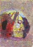 Музыкант   ватман, масло. 42 х 29    - 2008 г.    (Продано).