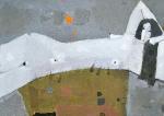 Белая Гармония  ватман, масло. 30 х 42  - 2010 г.     (Продано).
