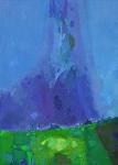 Весеннее Небо.    х. м. 70 х 50     2010 г.      (Продано).