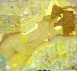 Обнажённая, 120х130, холст, масло, 1998г