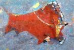 Тореадор  х.м. 85 х 125  - 2002 г.