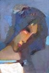 Меланхолия (Мадонна)  х.м. 94 х 65 - 2000 г.