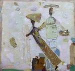 Прикосновение к Музе х. м. 160 х 170 - 1998 г.