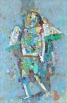Лучезарный художник  х.м. 99 х 66  - 2003 г.