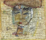 Маша.  холст на картоне 16 х 18 - 1999 г.