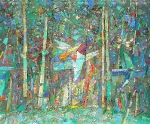 Песня Леса  х.м. 55,5 х 66  - 2003 г.