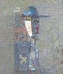 Девушка с вишнями  х.м. 99 х 84  - 2006 г.