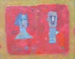 Супруги  х.м. 80 х 100  - 2006 г.