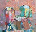 Два Музыканта  х.м. 80 х 90  - 2007 г.