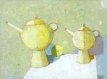 Приглашение к чаю  х.м. 60 х 80  - 2007 г.