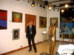 Открытие выставки 2007